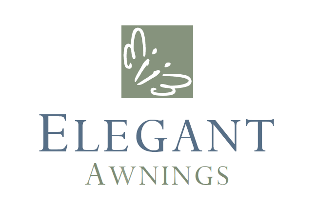 ei of Elegant Installations logo represents a butterfly